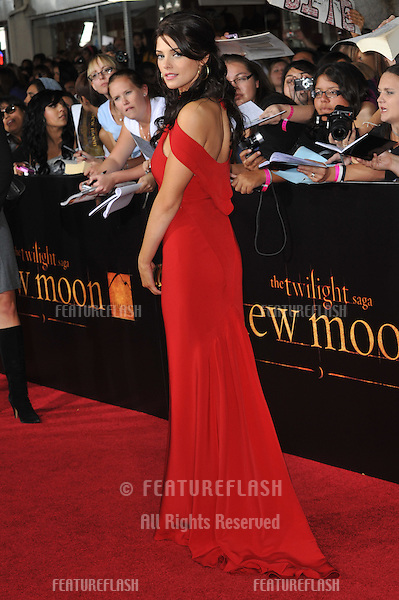 "Ashley Greene at the world premiere of her new movie ""The Twilight Saga: New Moon"" at Mann Village & Bruin Theatres, Westwood..November 16, 2009  Los Angeles, CA.Picture: Paul Smith / Featureflash"