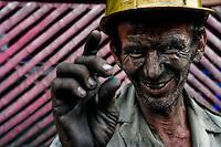 Emerald mining (Muzo, Colombia)