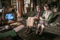 The Shape of Water (2017) <br /> Richard Jenkins &amp; Sally Hawkins<br /> *Filmstill - Editorial Use Only*<br /> CAP/MFS<br /> Image supplied by Capital Pictures