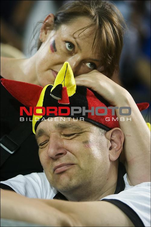 FIFA WM 2006 -  Halbfinale. <br /> Play    #61 (04-Jul) - Deutchland - Italien.<br />  German fans.<br /> <br /> Foto &copy; nordphoto