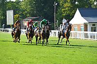 The start of The AJN Steelstock Dale Goreham's Retirement Handicap  during Horse Racing at Salisbury Racecourse on 9th August 2020