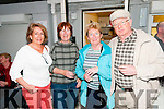 Lartigue Fund Raiser: Attending the fund raiser  Bar-B-Q for the Lartigue Monorail at The Carry Out store, Listowel on Saturday nigh last were Margaret Murphy, Bernie McAuliffe, Kay Boylan & Lian Grimes.