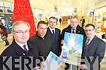 Kerry Businessmen who have set a group called Kerry 4 GPCE in support of the Global Pharmaceutical Centre of Excellence proposed for Tralee Technology park, have set up a petition in support of the project Manor west shopping centre from left are Paul Stephenson, Spokesperson, Derek Rusk Manager Manor west, Eamon Ferris Kevin Finn and John Drummey.