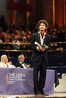 PICTURE BY VAUGHN RIDLEY/SWPIX.COM - Leeds International Piano Competition 2012 - Leeds Town Hall, Leeds, England - 15/09/12 - The winner Federico Colli of Italy.