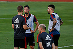 Robert Moreno, Pablo Sarabia and Unai Nunez during the Trainee Session at Ciudad del Futbol in Las Rozas, Spain. September 02, 2019. (ALTERPHOTOS/A. Perez Meca)
