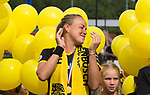 DEN BOSCH - Maartje Paumen (Den Bosch) , die haar laatste wedstrijd voor haar club speelde, na  de finale van de EuroHockey Club Cup, Den Bosch-UHC Hamburg (2-1) . ANP KOEN SUYK