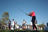 Rafa Cabrera Bello (ESP) during the third round of the Mutuactivos Open de Espana, Club de Campo Villa de Madrid, Madrid, Madrid, Spain. 05/10/2019.<br /> Picture Hugo Alcalde / Golffile.ie<br /> <br /> All photo usage must carry mandatory copyright credit (© Golffile | Hugo Alcalde)