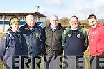 Kerry ladies coaches l-r: Sheila Kerley, Jerry O'Mahony, Bobby Brown, Pat Hartnett and James Fleming.