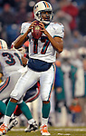 17 December 2006: Miami Dolphins quarterback Cleo Lemon (17) in action against the Buffalo Bills at Ralph Wilson Stadium in Orchard Park, New York. The Bills defeated the Dolphins 21-0.. .Mandatory Photo Credit: Ed Wolfstein Photo<br />