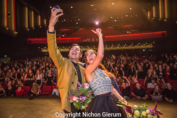 Utrecht, 27-9-2016, Nederlands Film Festival. Prijsuitreiking Junior Kalveren Gala in de Stadsschouwburg. Photo: Nichon Glerum