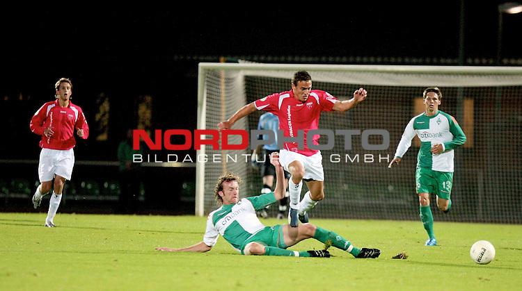 RLN 2007/2008 Hinrunde 07. Spieltag Nachholspiel 10.10.07<br /> Werder Bremen U23 gegen Kickers Emden<br /> <br /> Dominic Peitz (Bremen #6) <br /> <br />  <br /> <br /> Foto: &copy; nph ( nordphoto )