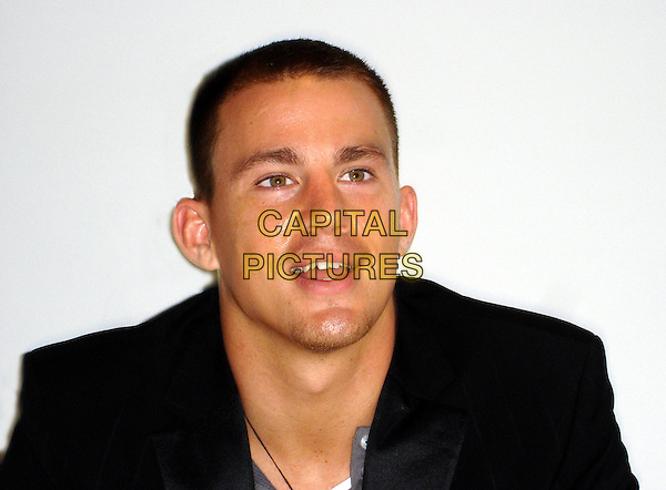 "CHANNING TATUM                               .""Step Up"" Press Conference, held in the Palm Room at the Four Seasons Hotel, Beverly Hills, Califronia, USA,.July 13th 2006..portrait headshot.Ref: AW.www.capitalpictures.com.sales@capitalpictures.com.©Anita Weber/Capital Pictures."