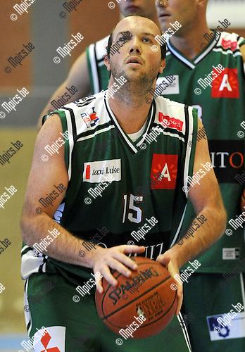 2010-08-28 / Basketbal / seizoen 2010-2011 / Gembo BBC / Johan Seghers..Foto: Mpics