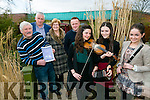 CCÉ Sliabh Mish  launch their Charity Concert and Ceili on Friday 8th of April at Gleneagles Ballroom, Killarney at 7.30pm in aid of Recovery Haven and Jigsaw Kerry. Pictured front l-r Jane O'Shea, Ciara Fell, Cliona O'Shea, CCÉ Sliabh Mish, Back l-r Michael O'Shea, CCÉ Sliabh Mish, Jimmy Mulligan, (Jigsaw, Kerry), Maureen O'Brien (Recovery Haven) and Kenneth Reynolds, (Recovery Haven)