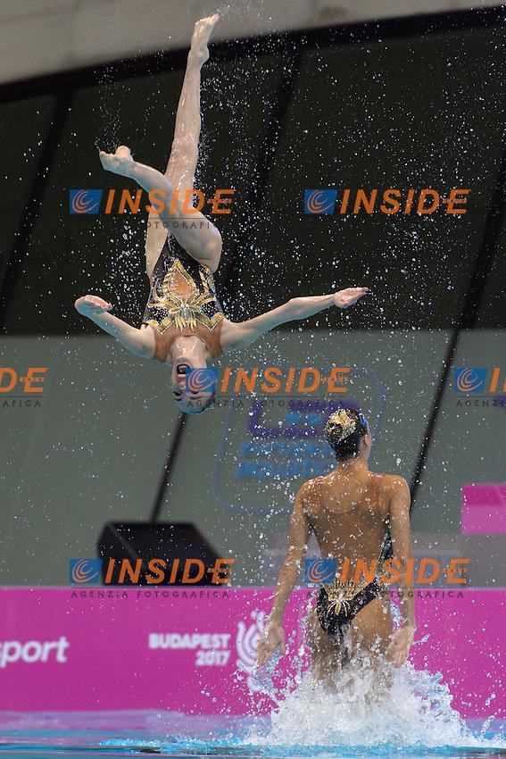 Team GREECE GRE <br /> ARMAOU Maria Eleni, DIPLA Ifigeneia, FARANTOURI Valentina, GKEORGKIEVA Giana, KOUTIDI Evangelia, <br /> PAPAZOGLOU Evangelia, SARANTIDI Sofia, TAXOPOULOU Anna Maria <br /> Team Technical Final <br /> London, Queen Elizabeth II Olympic Park Pool <br /> LEN 2016 European Aquatics Elite Championships <br /> Synchronized Swimming <br /> Day 01 09-05-2016<br /> Photo Andrea Staccioli/Deepbluemedia/Insidefoto