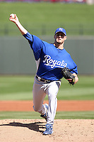 Gil Meche, Kansas City Royals 2010 minor league spring training..Photo by:  Bill Mitchell/Four Seam Images.