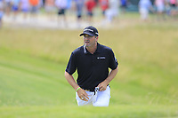 Ryan Palmer (USA) walks to the 10th tee during Friday's Round 2 of the 117th U.S. Open Championship 2017 held at Erin Hills, Erin, Wisconsin, USA. 16th June 2017.<br /> Picture: Eoin Clarke | Golffile<br /> <br /> <br /> All photos usage must carry mandatory copyright credit (&copy; Golffile | Eoin Clarke)