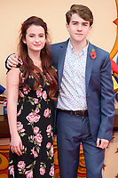 Madeleine Harris and Samuel Joslin<br /> at the &quot;Paddington 2&quot; premiere, NFT South Bank,  London<br /> <br /> <br /> &copy;Ash Knotek  D3346  05/11/2017