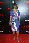 """Journalist Gayle King arrives on the red-carpet for the Tyler Perry""""s ACRIMONY movie premiere at the School of Visual Arts Theatre in New York City, on March 27, 2018."""