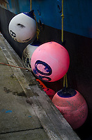 Bumper Buoys, Kodiak Island, Alaska, US