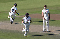 Ravi Bopara and Ryan ten Doeschate add to the Essex total during Lancashire CCC vs Essex CCC, Specsavers County Championship Division 1 Cricket at Emirates Old Trafford on 11th June 2018
