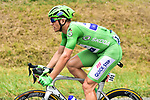 Green Jersey Marcel Kittel (GER) Quick-Step Floors during Stage 11 of the 104th edition of the Tour de France 2017, running 203.5km from Eymet to Pau, France. 12th July 2017.<br /> Picture: ASO/Pauline Ballet | Cyclefile<br /> <br /> <br /> All photos usage must carry mandatory copyright credit (&copy; Cyclefile | ASO/Pauline Ballet)