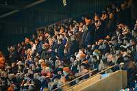 Blackpool fans watch their team in action <br /> <br /> Photographer Chris Vaughan/CameraSport<br /> <br /> The EFL Sky Bet League One - Rochdale v Blackpool - Wednesday 26th December 2018 - Spotland Stadium - Rochdale<br /> <br /> World Copyright &copy; 2018 CameraSport. All rights reserved. 43 Linden Ave. Countesthorpe. Leicester. England. LE8 5PG - Tel: +44 (0) 116 277 4147 - admin@camerasport.com - www.camerasport.com