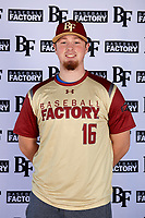 Cooper Jones (16) of Central Hardin High School in Elizabethtown, Kentucky during the Baseball Factory All-America Pre-Season Tournament, powered by Under Armour, on January 12, 2018 at Sloan Park Complex in Mesa, Arizona.  (Mike Janes/Four Seam Images)