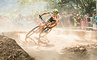 Picture by Alex Broadway/SWpix.com - 09/09/17 - Cycling - UCI 2017 Mountain Bike World Championships - XCO - Cairns, Australia - Daniel McConnell of Australia in action during the Men's Elite Cross Country Final.