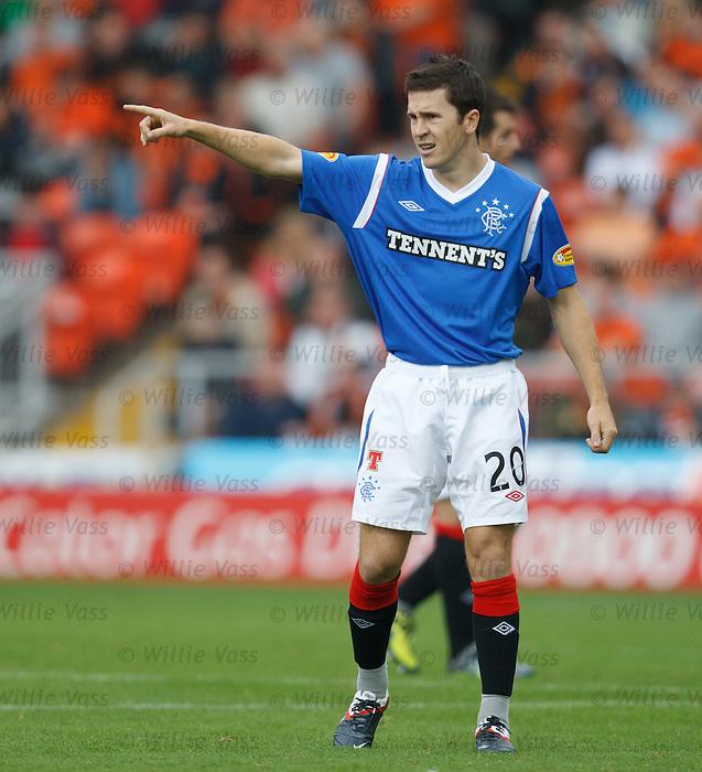 Matt McKay makes his debut for Rangers