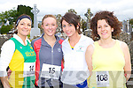 Suzanne O'Sullivan, Aisling O'Sullivan An Riocht, Emer Tangney Spa/Muckross and Margaret O'Leary Gneeveguilla AC who competed at the An Riocht/Kerry Autism fun run in Castleisland on Sunday    Copyright Kerry's Eye 2008