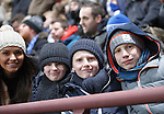 Hibs v St Johnstone...30.01.16   Utilita Scottish League Cup Semi-Final, Tynecastle..<br /> Saints fans in the crowd<br /> Picture by Graeme Hart.<br /> Copyright Perthshire Picture Agency<br /> Tel: 01738 623350  Mobile: 07990 594431