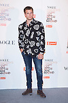 """Alvaro Cervantes attends the """"VOGUE FASHION NIGHT OUT"""" Photocall at Jose Ortega y Gaset street in Madrid, Spain. September 18, 2014. (ALTERPHOTOS/Carlos Dafonte)"""