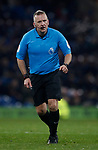 Referee Jonathan Moss during the Premier League match at Turf Moor, Burnley. Picture date: 3rd December 2019. Picture credit should read: Simon Bellis/Sportimage