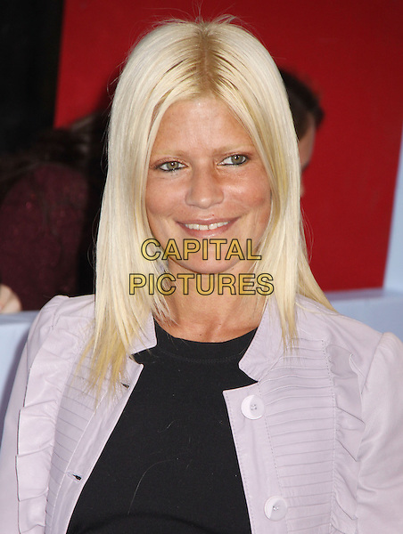 LIZZIE GRUBMAN .'The Bounty Hunter' New York Premiere held at the Ziegfeld Theatre, New York , NY, USA, 16th March 2010..arrivals portrait headshot black pink jacket smiling .CAP/ADM/AC.©Alex Cole/AdMedia/Capital Pictures.