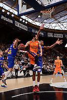 Ribas vs Tav&aacute;res &amp; Kuric<br /> Liga Endesa ACB - 2014/15<br /> J12<br /> Valencia Basket vs Herbalife Gran Canaria