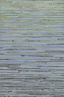 Tatami Mist, a jewel glass mosaic, is shown in glass Aquamarine, Labradorite and Chalcedony.