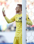 Atletico de Madrid's Jan Oblak during La Liga match. April 30,2016. (ALTERPHOTOS/Acero)