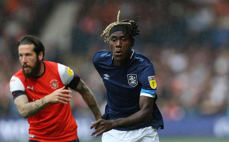 Huddersfield Town's Trevoh Chalobah<br /> <br /> Photographer Rob Newell/CameraSport<br /> <br /> The EFL Sky Bet Championship - Luton Town v Huddersfield Town - Saturday 31 August 2019 - Kenilworth Stadium - Luton<br /> <br /> World Copyright © 2019 CameraSport. All rights reserved. 43 Linden Ave. Countesthorpe. Leicester. England. LE8 5PG - Tel: +44 (0) 116 277 4147 - admin@camerasport.com - www.camerasport.com