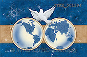 Isabella, CHRISTMAS SYMBOLS, corporate, paintings, 2 globes, dove(ITKE501394,#XX#) Symbole, Weihnachten, Geschäft, símbolos, Navidad, corporativos, illustrations, pinturas