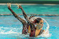 Paula Klamburg , Ona Carbonell Spain<br /> 8th FINA Synchronised Swimming World Trophy <br /> Day01 Nov. 29 -  Thematic duet<br /> Mexico City 29 November - 1 December<br /> Photo G.Scala/Deepbluemedia.eu/Insidefoto
