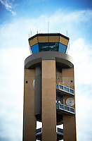 Airfield control tower America