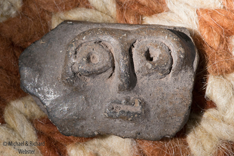 Pre-columbian stone face, NW Argentina