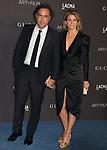 Alejandro González Iñárritu, Maria Eladia 068 attends the 2019 LACMA Art + Film Gala at LACMA on November 02, 2019 in Los Angeles, California