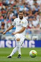 Real Madrid's Spanish defense Nacho