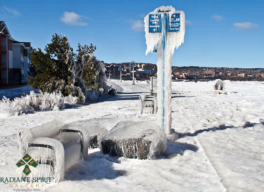 &quot;Lakewalk on Ice&quot;<br />