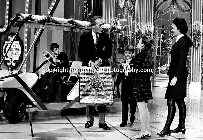 "Bing Crosby and family during Christmas TV special, Bing Crosby, singer Bing Crosby, American popular singer, actor, Harry Lillis ""Bing"" Crosby, Global Achievement Award, Fine Art Photography by Ron Bennett, Fine Art, Fine Art photography, Art Photography, Copyright RonBennettPhotography.com ©"