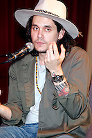 John Mayer pictured at his interview during the 12th Annual Non-Comm at World Cafe Live in Philadelphia, Pa on May 18, 2012  © Star Shooter / MediaPunchInc