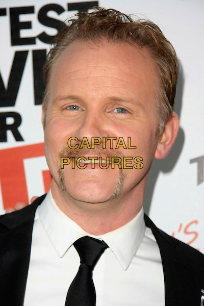 "MORGAN SPURLOCK.""Pom Wonderfool Presents: The Greatest Movie Ever Sold""  - Los Angeles Premiere held at Cinerama Dome at ArcLight Cinemas.  Los Angeles, California, USA, .20th April 2011..portrait headshot facial hair moustche mustache black tie.CAP/ADM/TB.©Tommaso Boddi/AdMedia/Capital Pictures."