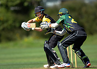 Luke Georgeson bats during the provincial cricket match between the Wellington A and Central Districts A at Karori Park in Wellington, New Zealand on Monday, 6 January 2020. Photo: Dave Lintott / lintottphoto.co.nz